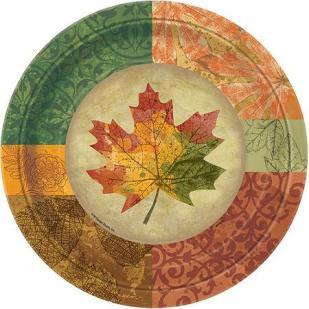 Rustic Fall Tableware