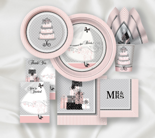 Bridal Shower Tableware & Decorations!