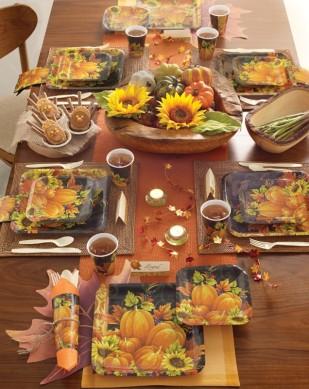 Pumpkin Tapestry Tableware